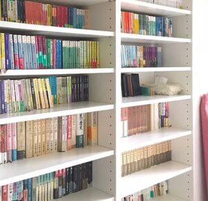 本棚の整理は読書が楽しくなる
